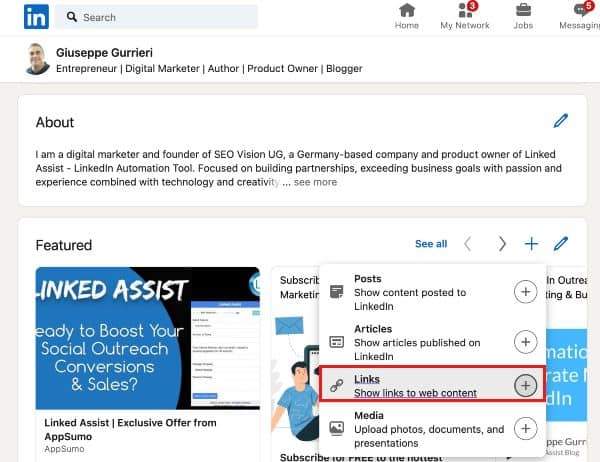 How to Create a Robust Online Presence for Your Linkedin Profile